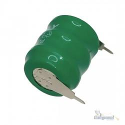 Bateria Bujão Botijão Recarregável 3,6v 60mah Nicd